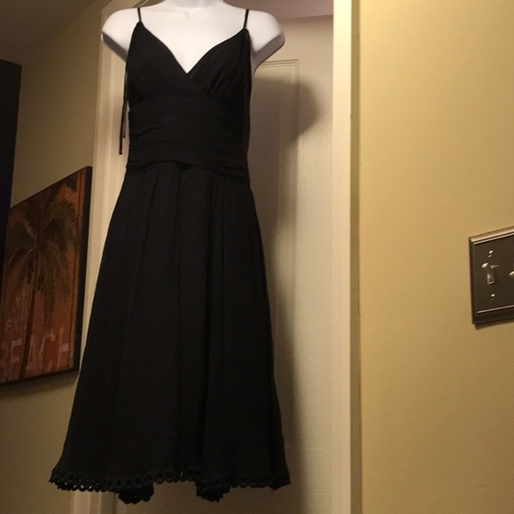 5e07cea59c0 👗TED BAKER Silk Dress with Straps. Size 1 US 0-2